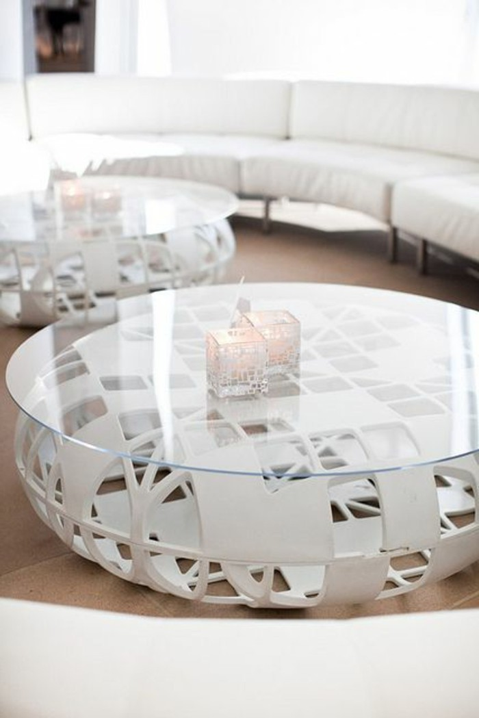 Table Basse Salon Fly. Free Table Basse Design Bois Blanc Ezooq