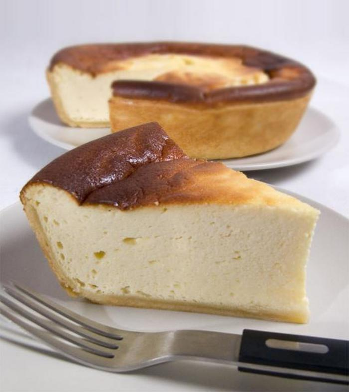 tarte-au-fromage-blanc-dessert-léger-apétissant