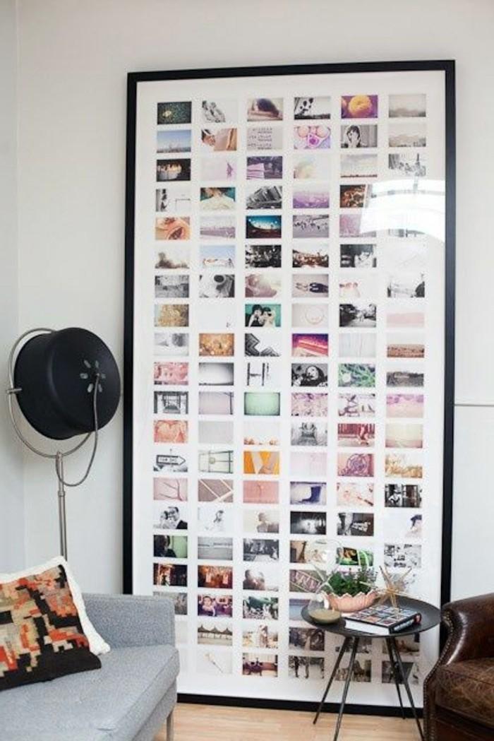Beaucoup dides avec un cadre photo multivues et un cadre