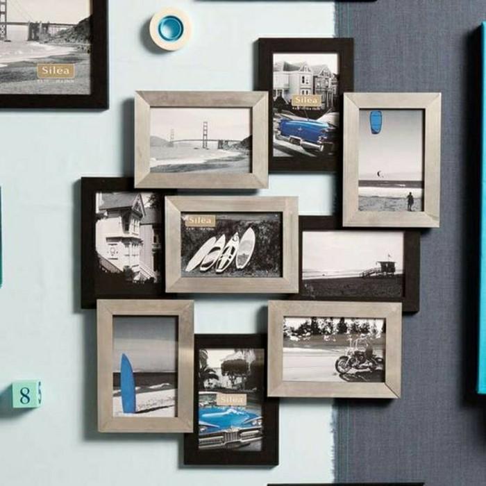 Beaucoup D Idees Avec Un Cadre Photo Multivues Et Un Cadre Photo Pele Mele Archzine Fr