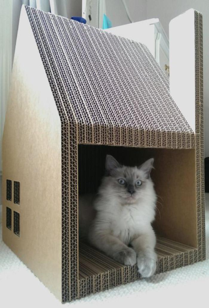La niche pour chat  designs amusants  Archzinefr