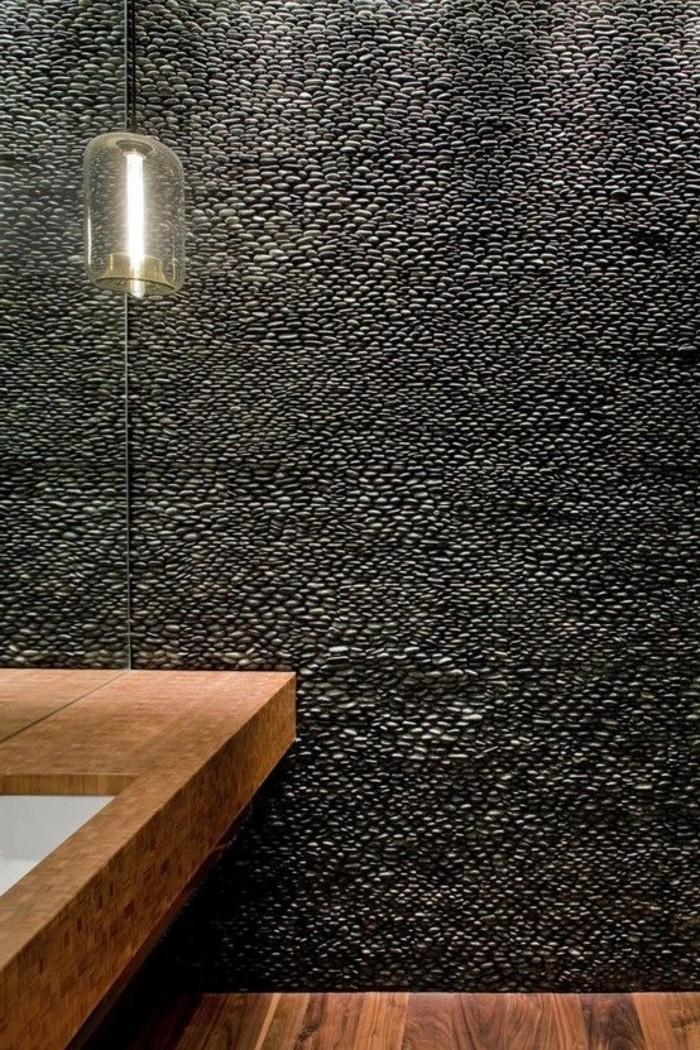 Le carrelage galet pratique revtement pour la salle de bain