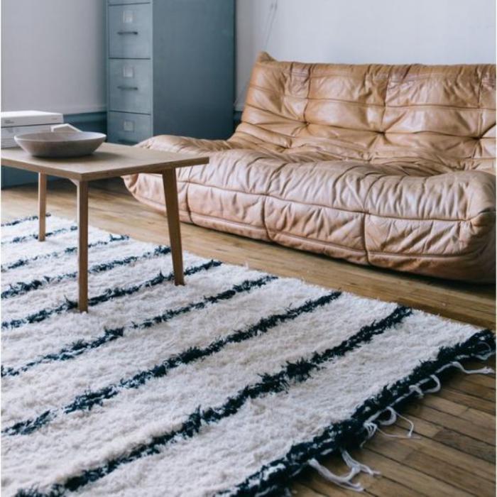Tapis Pour Table Basse Fabulous Dco Salon Moderne Pour