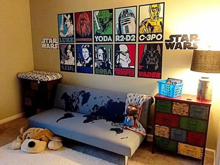 La Chambre Star Wars Faire Une Dcoration Laide De
