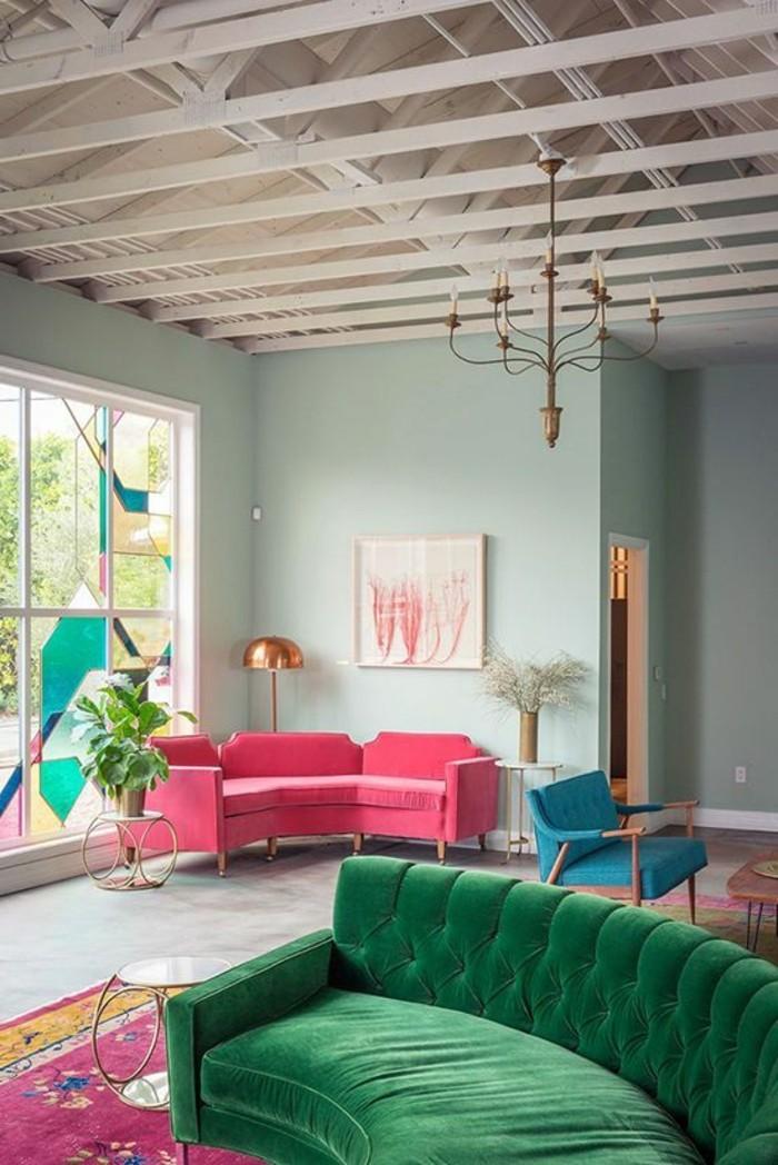 Quelle couleur pour un salon 80 ides en photos  Archzinefr