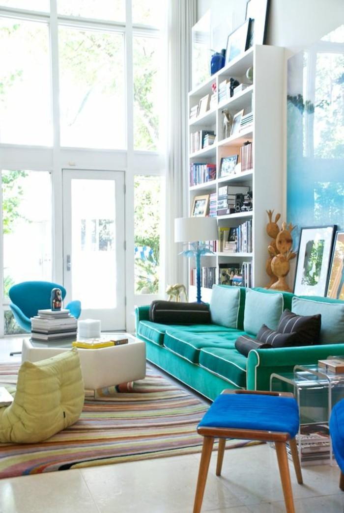 Quelle couleur pour un salon 80 ides en photos