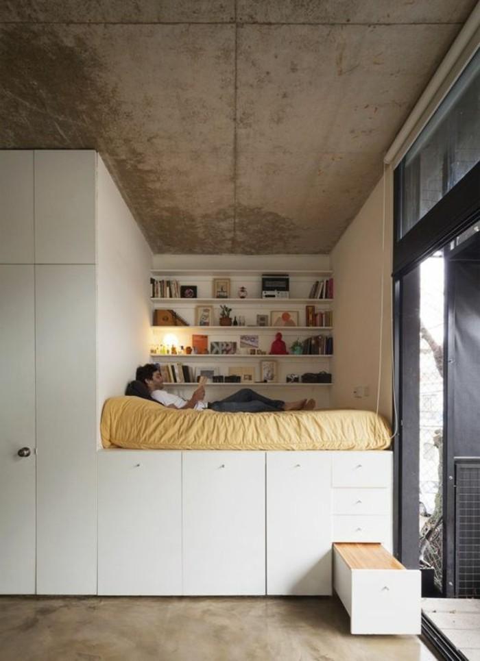 O trouver votre lit avec tiroir de rangement  Archzinefr