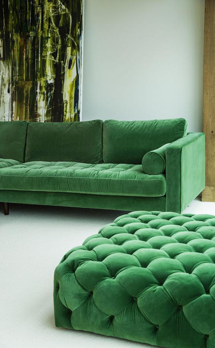 Mettez un canap vert et personnalisez lintrieur  Archzinefr