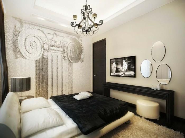 Décoration Chambre à Coucher Blanche