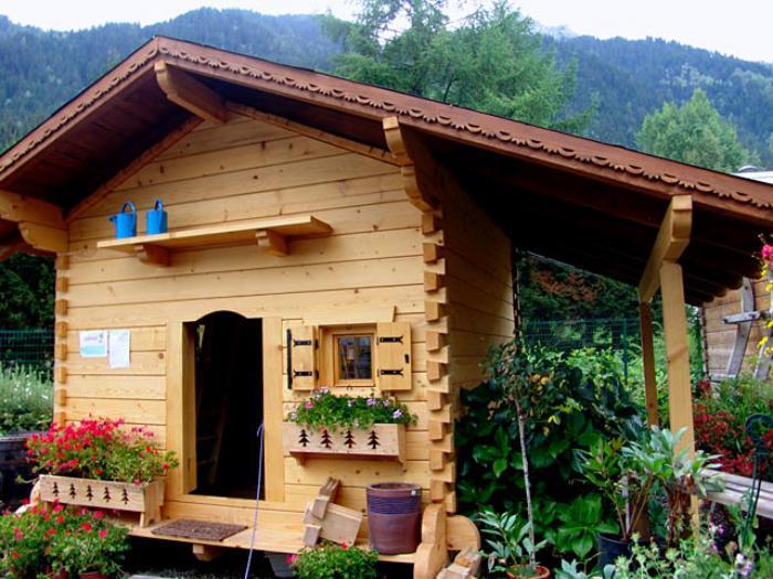 Chalet en kit a vendre 28 images chalet en bois rond a for Cabanon de jardin