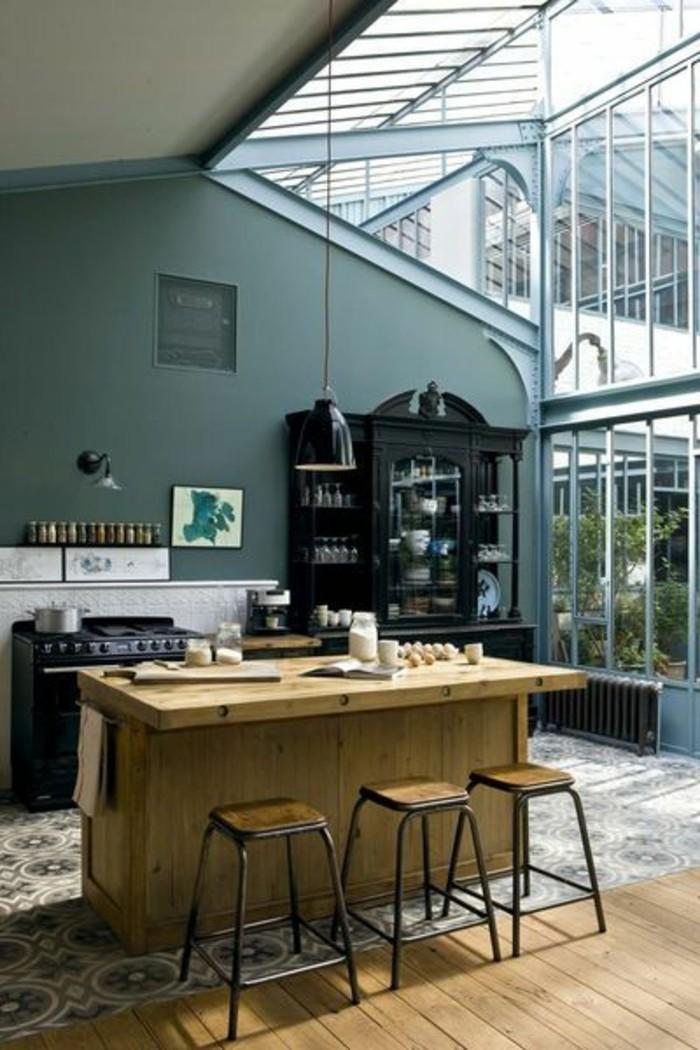 Great With Cuisine Mur Vert