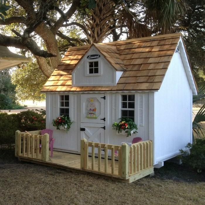 la maisonnette en bois qui aide vos