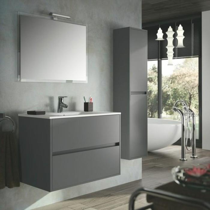 Meuble salle de bain bois pas cher elegant gorgeous for Ensemble salle de bain bois pas cher