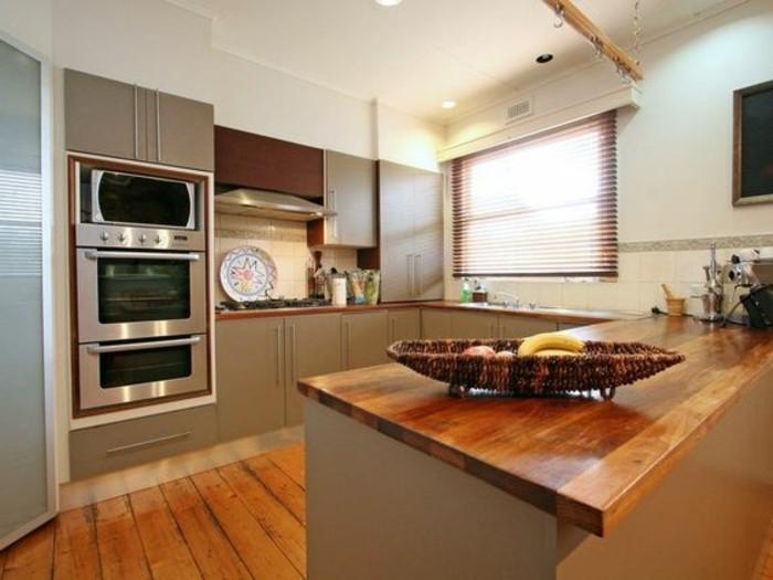 meuble de cuisine gris anthracite
