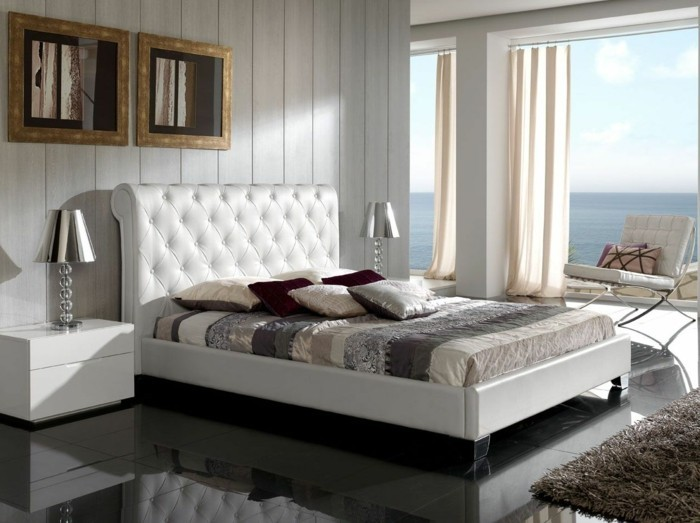 Choisissez un lit en cuir pour bien meubler la chambre  coucher