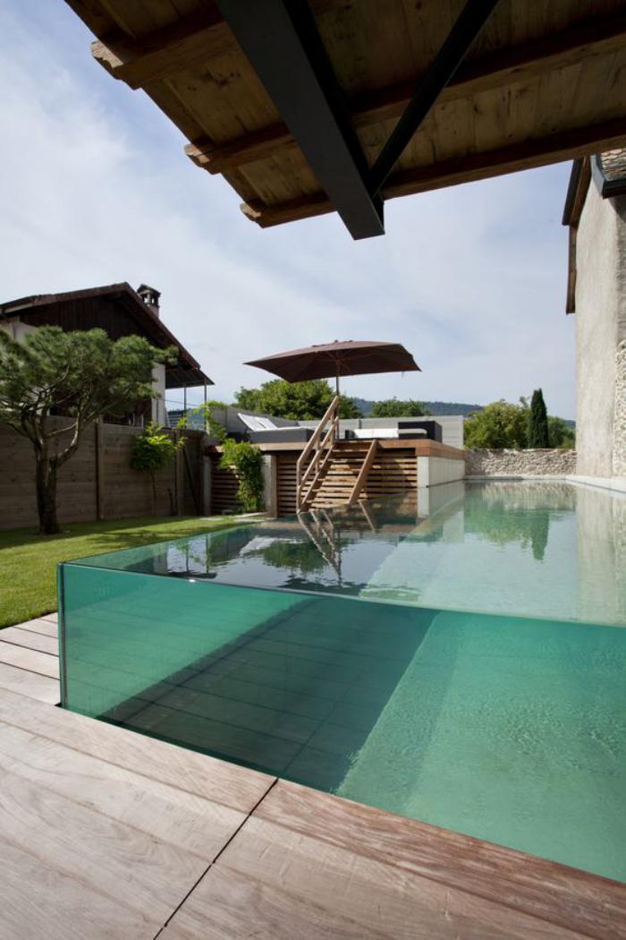 La piscine en verre en 43 photos  Archzinefr