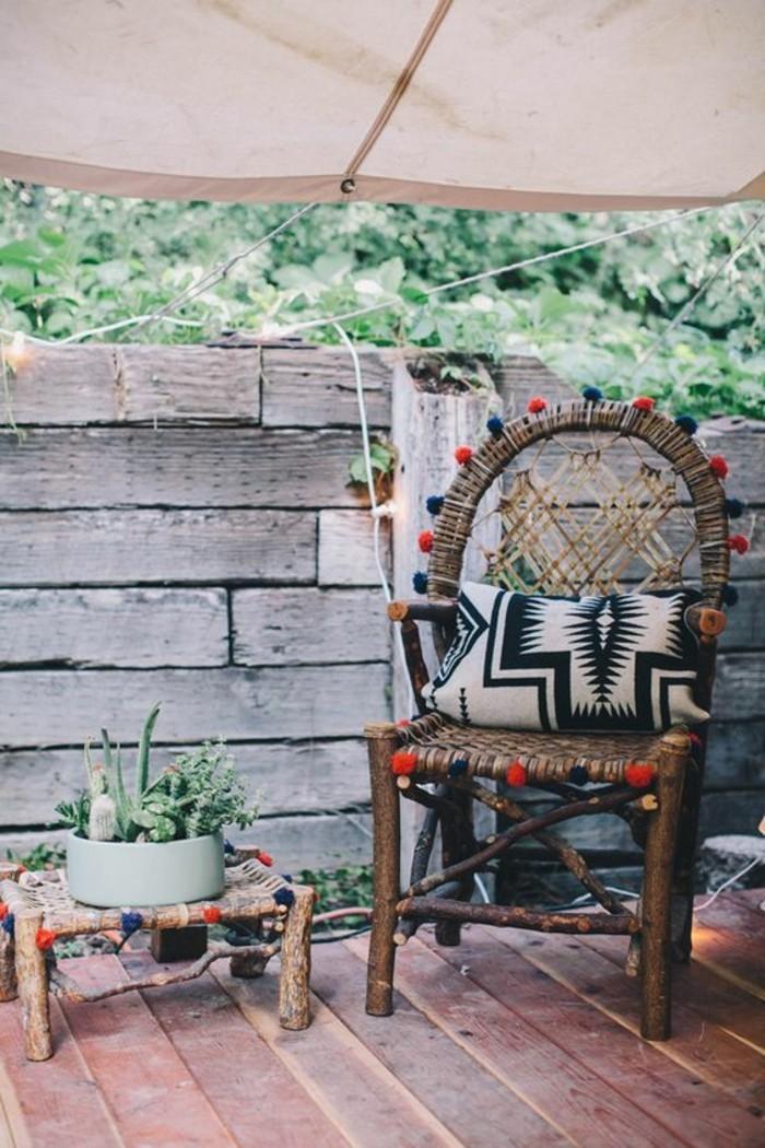 Le salon de jardin en rsine tresse en 52 photos