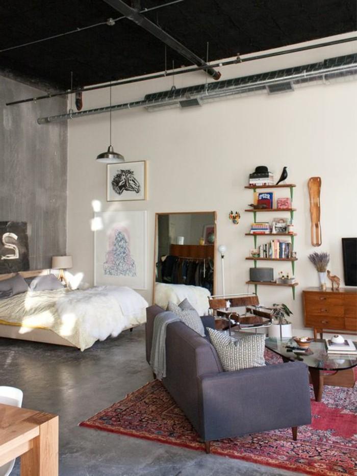 Meubler un studio 20m2 Voyez les meilleures ides en 50 photos