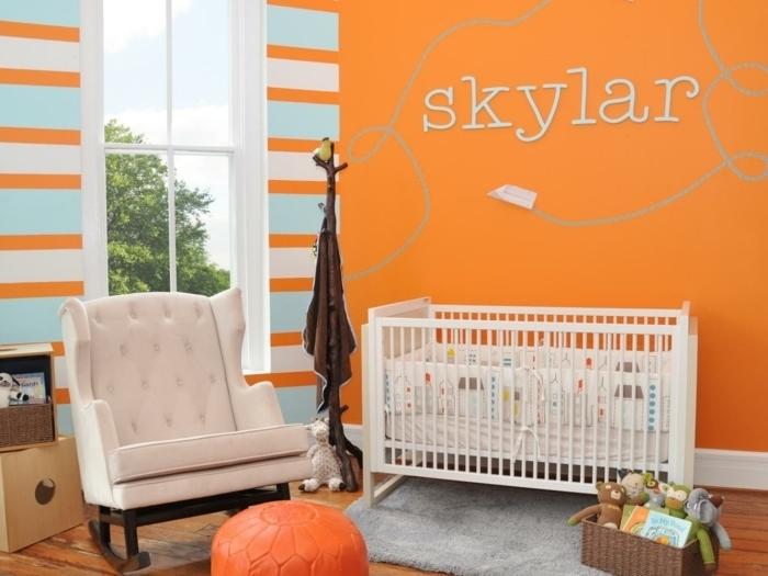 Chambre Bebe Orange Et Gris - Décoration de maison idées de design d ...