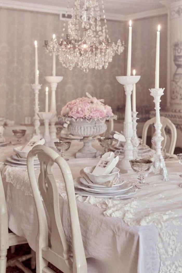 Dco et meubles shabby chic dans la salle  manger  comment crer une atmosphre vintage