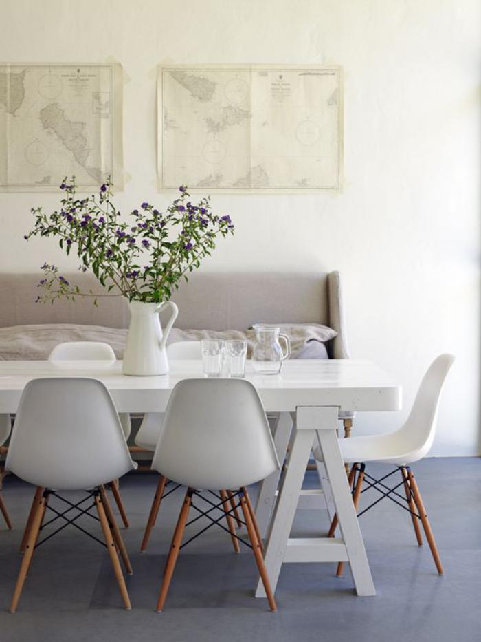 eames chair replica chippendale dining chairs la salle à manger scandinave en 67 photos - archzine.fr
