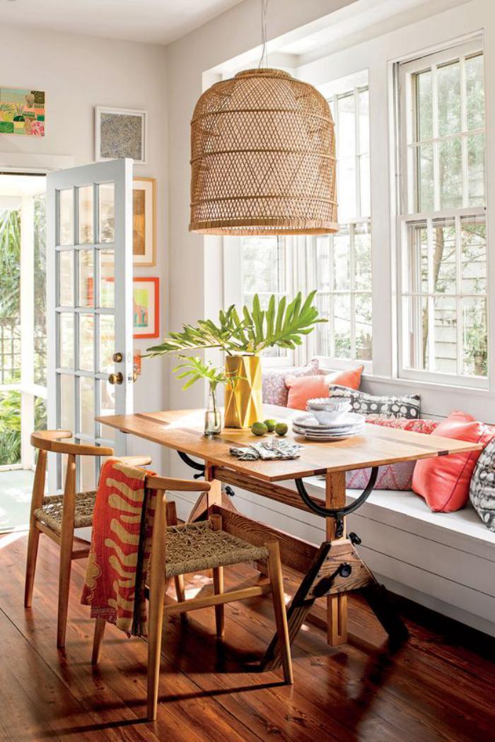 table de cuisine avec banc d angle