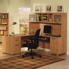 Brown Computer Chair French Provincial Un Bureau Informatique D' Angle - Quel Choisir Pour Votre Petit Office? Archzine.fr