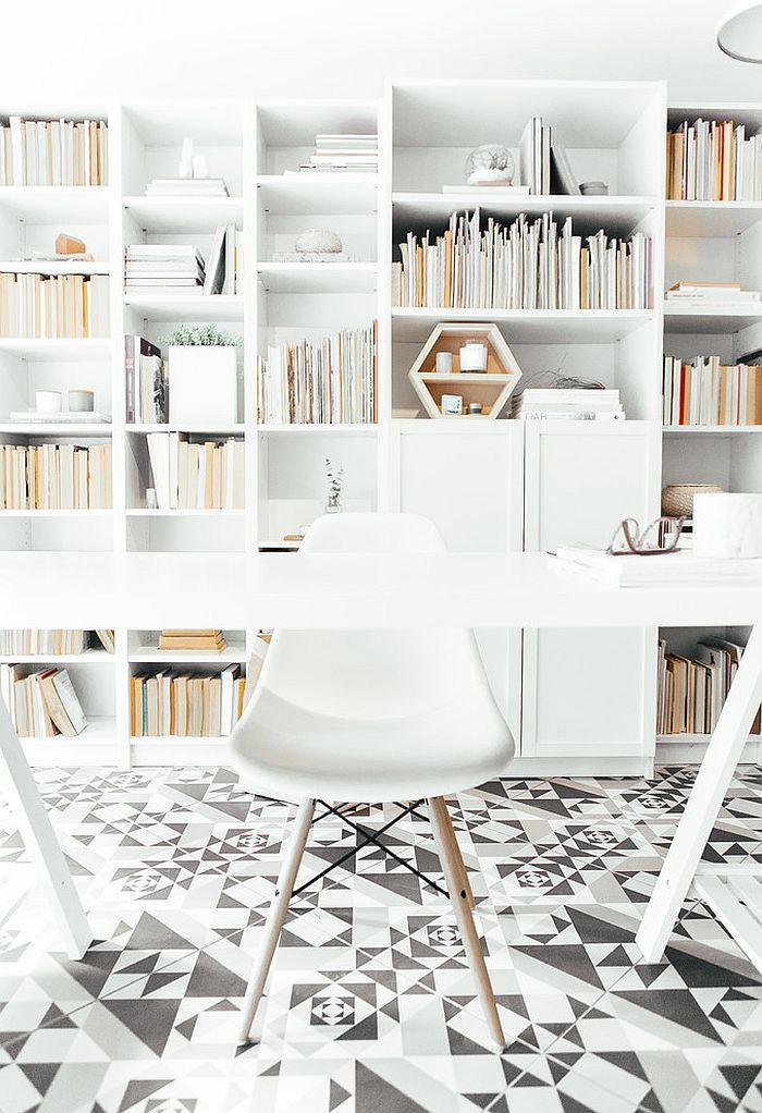 Amnagement dun petit espace de travail  le bureau style