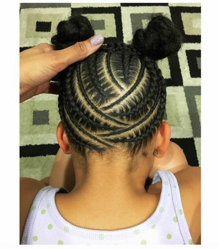 coiffure petite fille 90 idees pour