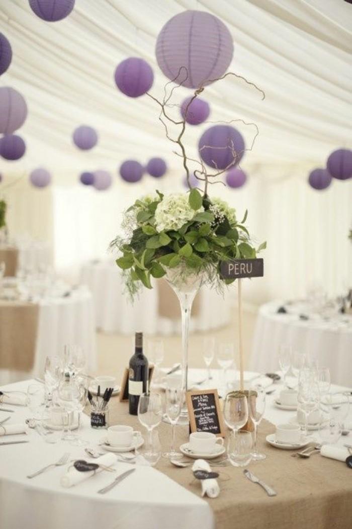 La dcoration salle de mariage comment conomiser de largent