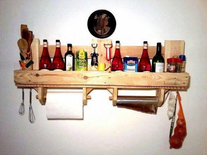 Porte Ustensile Cuisine Mural