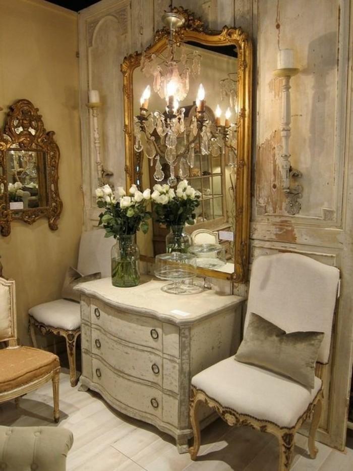 Comment dcorer avec le grand miroir ancien  ides en photos  Archzinefr