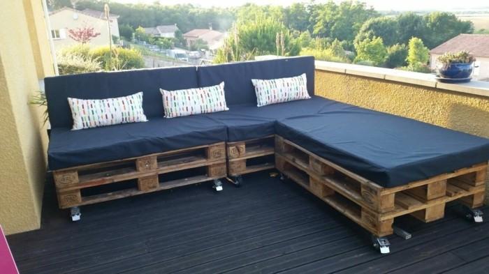 Fabriquer salon de jardin en palette meublegarten - Fabriquer salon de jardin en palette ...