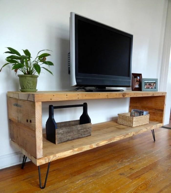 fabriquer un meuble tv instructions et modeles diy