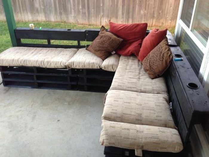 meuble de jardin en palette