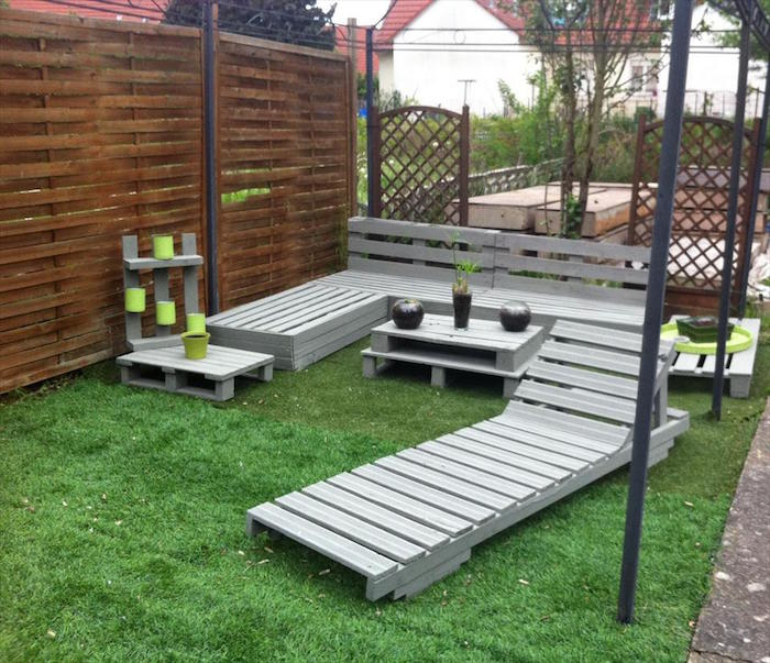 Construire Salon De Jardin En Palette | Salon De Jardin En ...