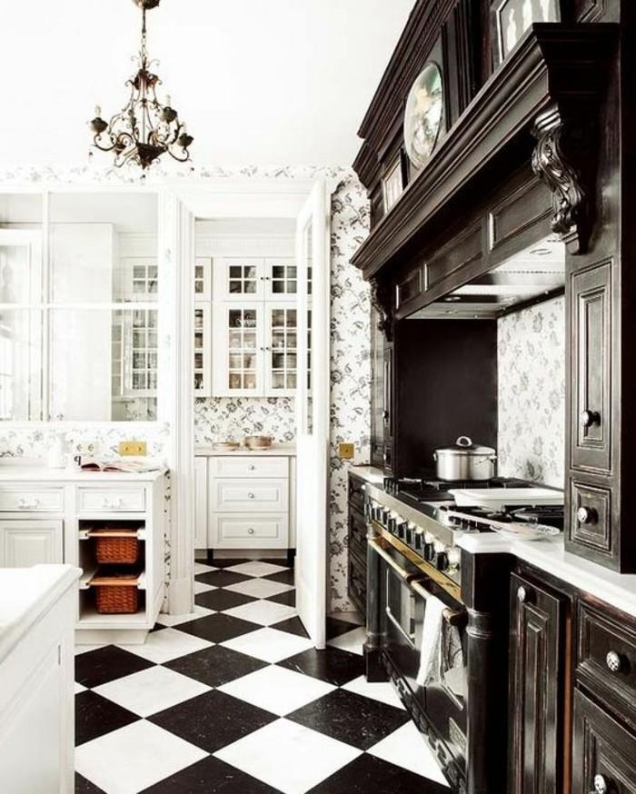 Carrelage damier rouge et blanc carrelage design for Carrelage cuisine rouge et blanc