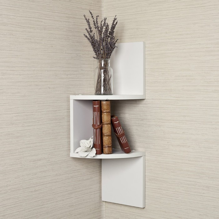 1001 idees etagere d angle murale