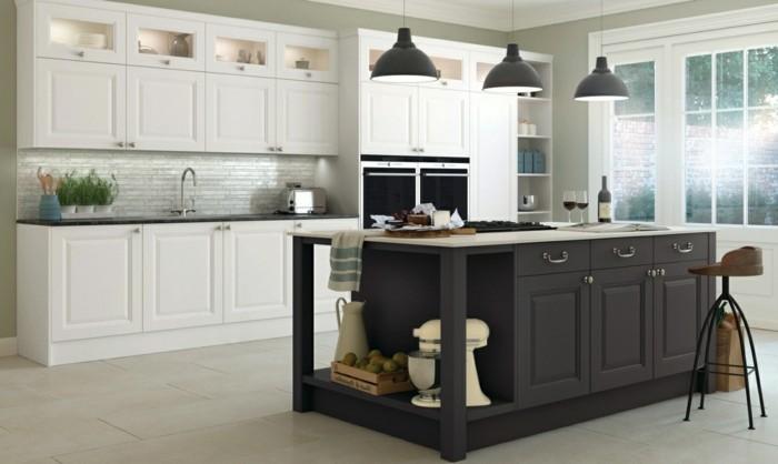 cuisine gris anthracite et bois
