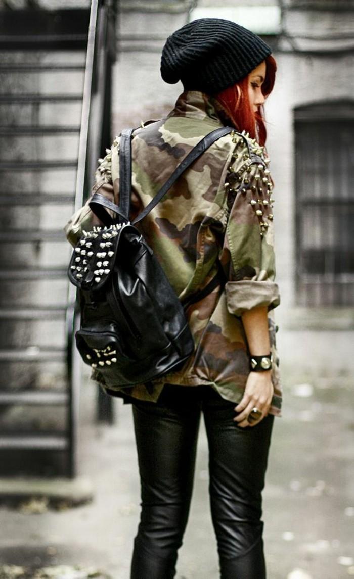 Veste camouflage femme  les tendances actuelles en photos