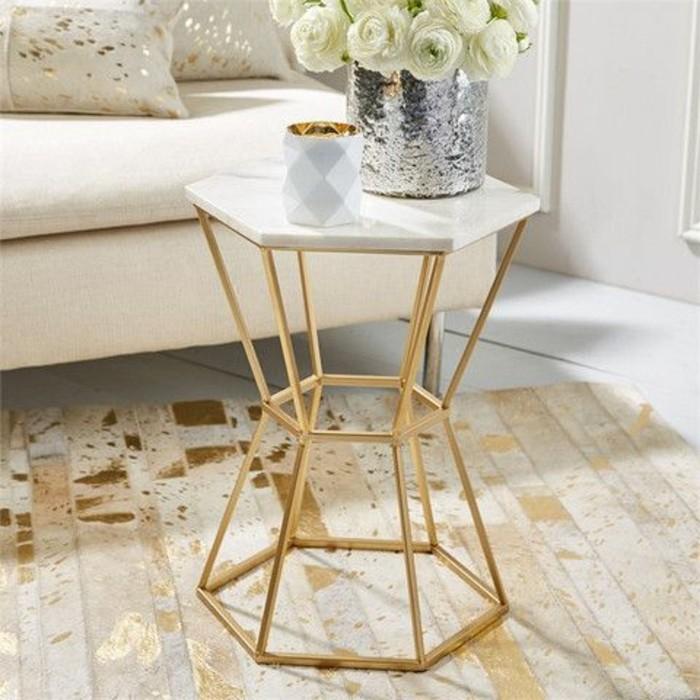 table basse en marbre 58 idees pour