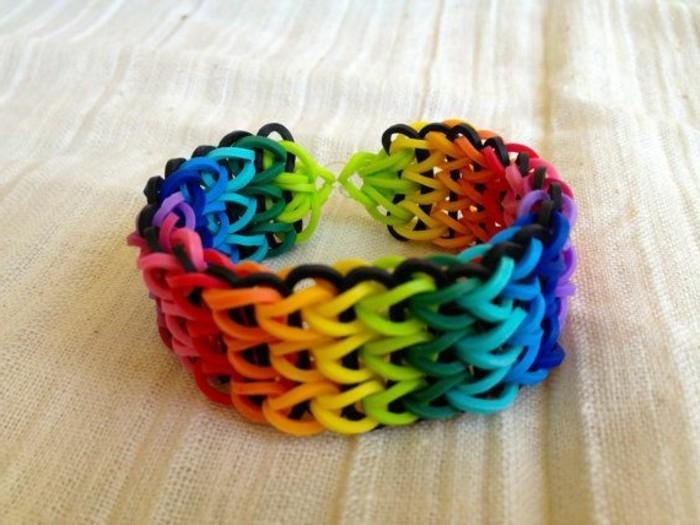 Comment faire des bracelets en lastique  tuto et quelques jolis modles