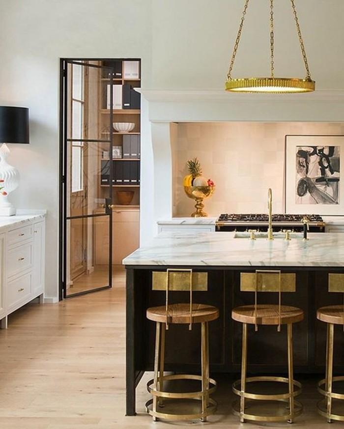 table haute pour cuisine avec tabouret