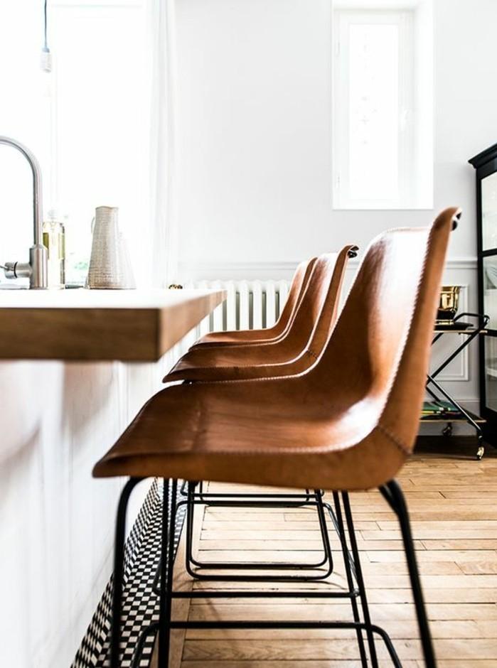 table de cuisine haute avec tabouret