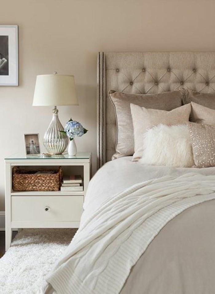 Chambre taupe et beige d coration de maison id es de design d 39 int rieur - Chambre beige et taupe ...
