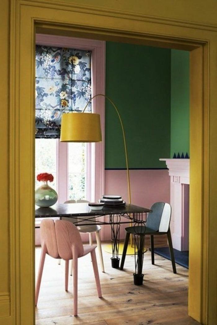 chambre jaune moutarde d coration de maison id es de. Black Bedroom Furniture Sets. Home Design Ideas