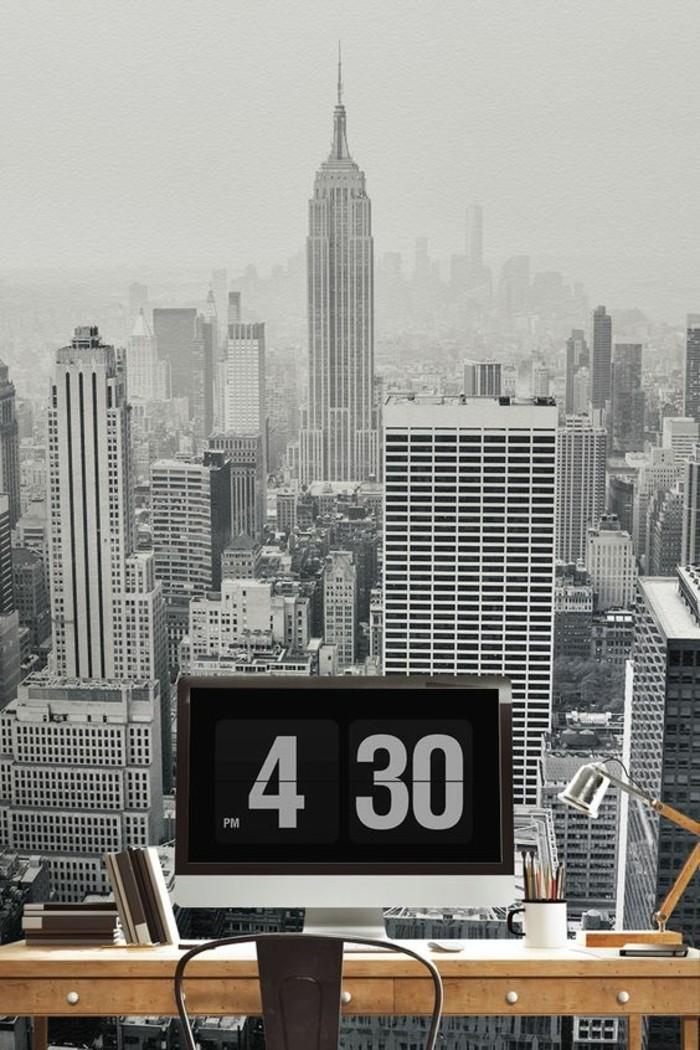 Les stickers muraux new york  des ides spectaculaires