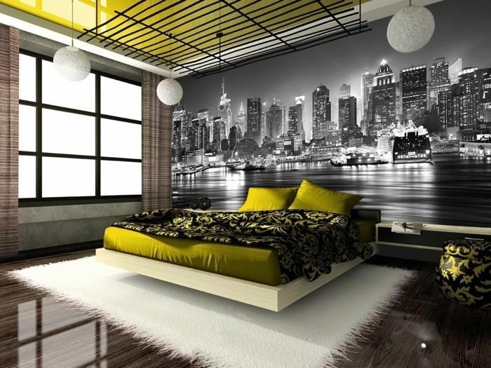 Les stickers muraux new york  des ides spectaculaires pour vos murs  Archzinefr