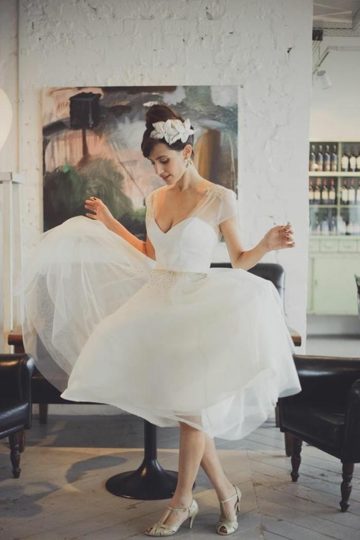 Trouvez votre robe de marie courte  70 magnifiques ides