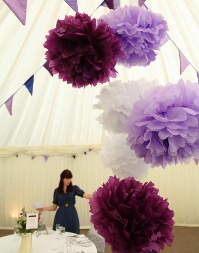 Fabriquer Une Fleur En Papier De Soie 67 Ides DIY
